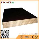 La película de China Linyi hizo frente a la madera contrachapada Shuttering de la madera contrachapada para Connstruction