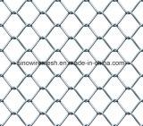 Rete fissa rivestita di collegamento Chain del PVC per la rete metallica di obbligazione