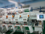 De textiel Geautomatiseerde Machine van het Borduurwerk van de Computer van 4 Hoofden