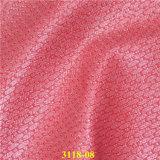 Cuoio materiale tessuto spazzolato del Faux dell'unità di elaborazione del pattino del grano
