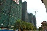 Gru della costruzione della costruzione della torretta