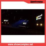 Indicador de diodo emissor de luz interno elevado do arrendamento da cor cheia de Showcomplex P3.91 Deifinition para o evento e o concerto