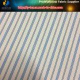 卸し売り青い縞のライニング、スーツ(S148.151)のためのポリエステルヤーンの染められたファブリック