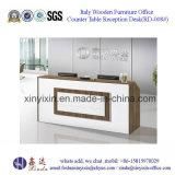 Самомоднейшая офисная мебель MDF стола приема офиса (RT-008#)