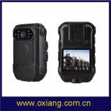 камера Ox-Zp605g полиций DVR камеры HD1080p 4G 3G WiFi Bluetooth GPRS GPS тела полиций IP67 4G WiFi водоустойчивая пригодная для носки