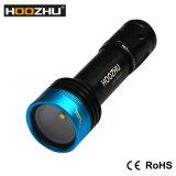 Hoozhu V11 LED 전구 크리 말 Xml U2 LED는 100m를 900의 Lm LED 잠수 영상 플래쉬 등 방수 처리한다