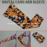 스포츠 압축 정전기 방지 디지털 Camo 팔 소매