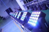 Iluminação do estágio do diodo emissor de luz da matriz da iluminação 25PCS*10W do diodo emissor de luz com bulbo do diodo emissor de luz