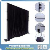 Aluminiumrohr-drapieren erfinderisches Hintergrund-Systems-Rohr und Hintergrund