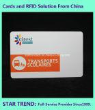 Cartão do Pub feito do plástico com listra magnética (ISO 7811)