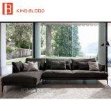 Moderne dunkle graue Farben-Sofa-Sets für Wohnung