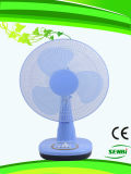 16 polegadas de ventilador colorido da mesa do ventilador de tabela de 110V (Sb-T-DC40o
