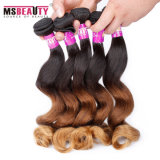 Ombre Indian Hair Loose Wave Unprocessed Remy Hair Extension