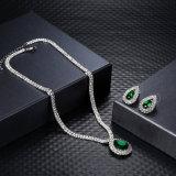 La joyería de la boda de la dimensión de una variable del agua fija el collar y los pendientes