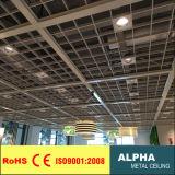 Qualitäts-Aluminiumdach-Panel-Gitter-Decke/geöffnete Zellen-Decke