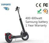 Scooter électrique avec le moteur 600watt sans frottoir