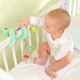 Baby-gewundenes Aktivitäts-Spielzeug-hängende Geklapper-Spielwaren für Krippe-Spaziergänger