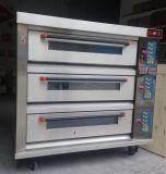 パン屋の工場のための商業デジタル制御ピザ電気オーブン