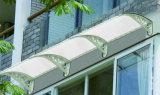 Toldo Anti-UV de pouco peso do PC do policarbonato da chuva de Sun da alta qualidade