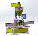Varias máquinas de llenado de polvo con escala de ponderación