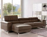 Conjuntos comerciales del sofá del cuero de los muebles de la mejor calidad (UL-NSC075)