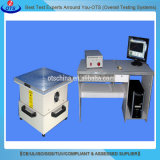 Het Testen van de Trilling van de Apparatuur van het laboratorium Eleltrodynamische Machine met de Schudbeker van Drie As