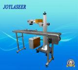 자동적인 일관 작업 섬유 Laser 비행 표하기 기계