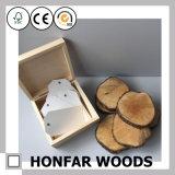 Коробка коробки подарка твердой древесины упаковывая для сувенира