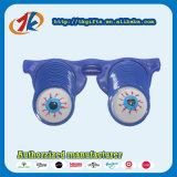 Promoción Squeeze juguete de plástico Broma de los ojos Gafas Juguetes