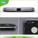 Samsung 은하 S7 상자를 위한 1개의 TPU+PC 방어적인 실리콘 전화 덮개 쉘에 대하여 신제품 탄소 섬유 2