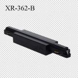Um conetor reto dos fios da fase 3 com acessórios da trilha (XR-362)