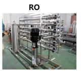 Impianto di per il trattamento dell'acqua per acqua potabile impaccata