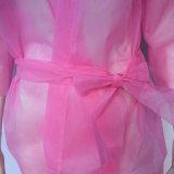 Kimono non-tissé remplaçable, couche de STATION THERMALE avec la couleur rose