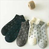 Nettes Muster-klare Jacquardwebstuhl-Knöchel-Socken