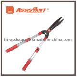 Ножницы изгороди с Undulated лезвием и анодированными алюминиевыми телескопичными ручками