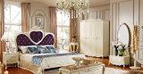 Französische luxuriöse erwachsene Hauptschlafzimmer-Set-Möbel