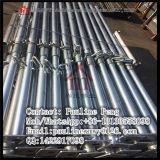 Apoyo telescópico ajustable del tubo del apuntalamiento para la construcción