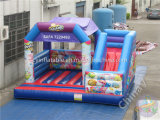 Cartoon Inflatable Combo / Inflable Bouncy Castle com Slide