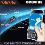 13.56MHz Ntag213の反金属NFCの札