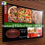 印を広告するレストランの壁のためのLEDの額縁メニューボードのライトボックス