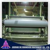 Double machine non-tissée de tissu de s solides solubles pp Spunbond de la Chine 2.4m