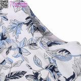 Платье L36185 сбор винограда печати листьев безрукавный