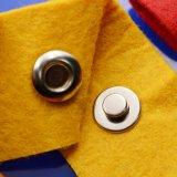 Кнопка изготовленный на заказ шинелей металла щелчковая