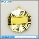 Insigne fait sur commande de vente chaud de médailles d'armée de marine de pièce de monnaie de souvenir de médaille d'or