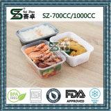 Container de armazenamento de alimentos plásticos e congeladores 1000cc