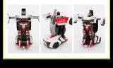 Игрушка полицейской машины Leiken деформации R/C красная (лицензии)