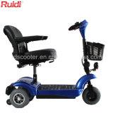 Scooter de mobilité de Faodable de scooter de roue du contrat trois de poids léger