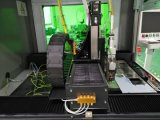 Máquina de estaca plástica do laser da fibra do metal automático do CO2 do CNC