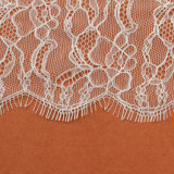 10cm Gold Metallic Crown Embroidery Nylon Voile Lace Fabric