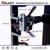 Pantalla de visualización de alquiler de fundición a presión a troquel al aire libre de LED LED de la cabina de aluminio del RGB P3.91 P4.81 P5.95